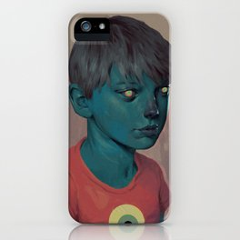 Illuminated Boy iPhone Case