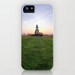 The Burning Inukshuk (Vancouver, Canada) iPhone Case