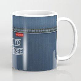 Denim Jeans - I Want To Break Free Coffee Mug