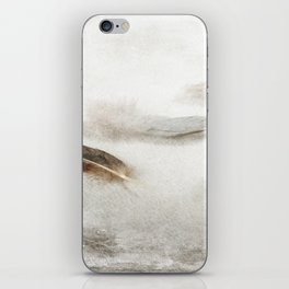 Resting Feathers iPhone Skin