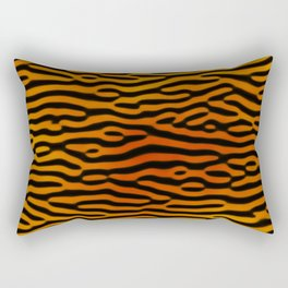Tiger Print (Tiger King) Rectangular Pillow