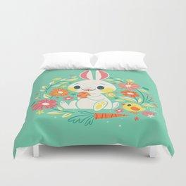 Sweetest Easter Bunny Duvet Cover