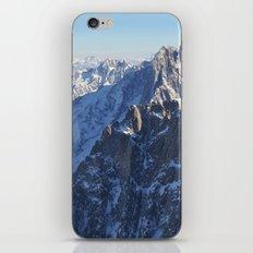Mont Blanc, Chamonix. iPhone & iPod Skin