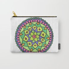 Bright colors mandala Carry-All Pouch