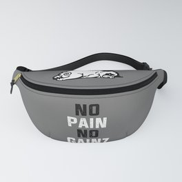NO PAIN NO GAINZ Fanny Pack