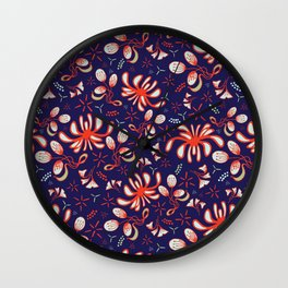 Chrysantemum Wall Clock