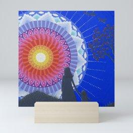 Into the Light Mini Art Print