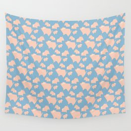 Paper Pigs (Patterns Please) Wall Tapestry