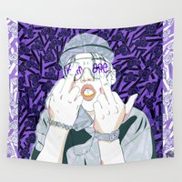 ape Wall Tapestries featuring Keith Ape by TecTecBeurk