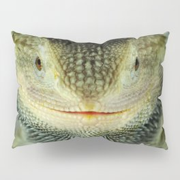 Shadowy Zero Beared Dragon Pillow Sham
