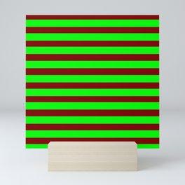 marinière mariniere Green version 2 Mini Art Print