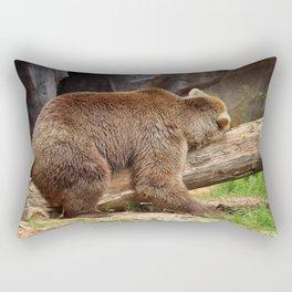 Teddy Bear At Rest 2 Rectangular Pillow