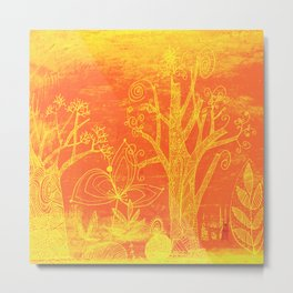 marmalade forest Metal Print