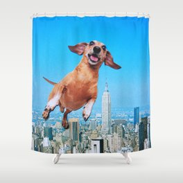 Woooo Shower Curtain