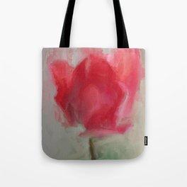 Lipsick Tulip Tote Bag