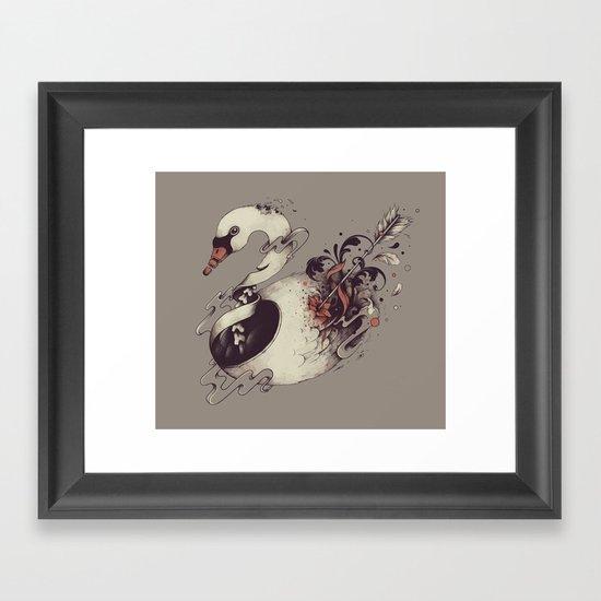 Broken Innocence Framed Art Print