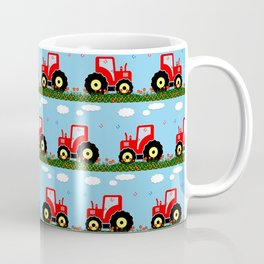 Toy tractor pattern Coffee Mug