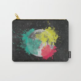 Moon + Neon Carry-All Pouch