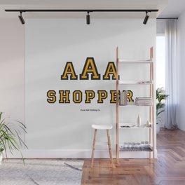 Triple-A Shopper – Gold Wall Mural