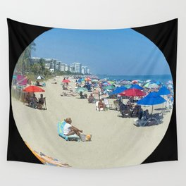 Beach View Wall Tapestry
