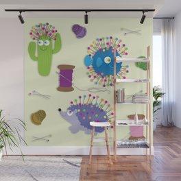 Sew Happy Wall Mural