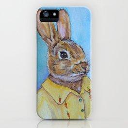 Hey Bunny iPhone Case