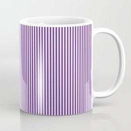 Purple Pinstripes Coffee Mug