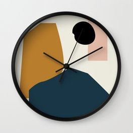 Shape study #1 - Lola Collection Wall Clock