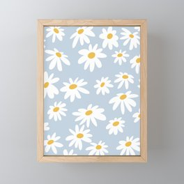 Lazy Daisies  Framed Mini Art Print