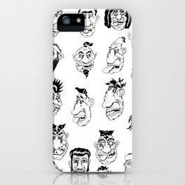 Shafted! Character sheet iPhone Case
