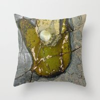 rocky Throw Pillows featuring Rocky by CrismanArt