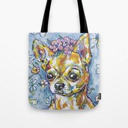Fri the Chihuahua  Tote Bag