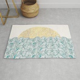 Sunny Tribal Seas Rug