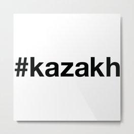 KAZAKH Metal Print