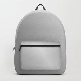 Brushed Steel Backpack