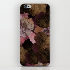 FLORAL PINKS iPhone Skin