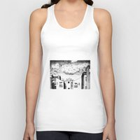 buildings Tank Tops featuring Buildings by Giuseppe Vassallo