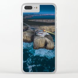 Portugal Coastline Clear iPhone Case