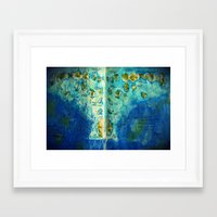 neverland Framed Art Prints featuring Neverland by Tiny-firefly Art