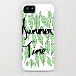 """""""Summer Time"""" iPhone Case"""