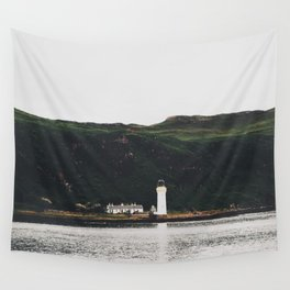 The Rubha Nan Gall Lighthouse Wall Tapestry