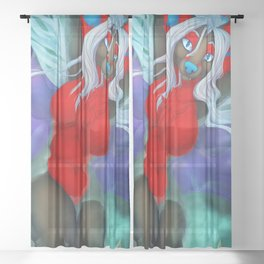 Lazy River Temrin Sheer Curtain