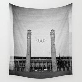 Olympiastadion Wall Tapestry