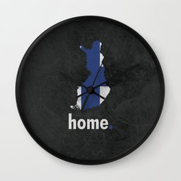 Finland Proud Wall Clock