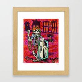 throw me sumtin mistah Framed Art Print