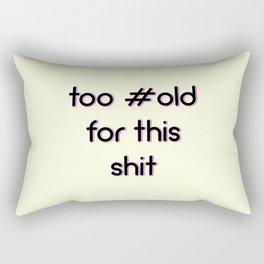 #Old Rectangular Pillow