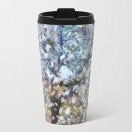 Spring Almond Blossom Travel Mug
