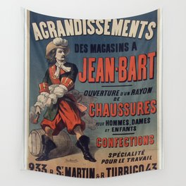 Old Sign / Jean Bart Wall Tapestry