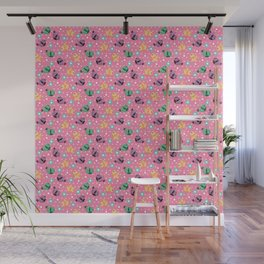 Freely Birds Flying - Fly Away Version 3 - Taffy Pink Color Wall Mural