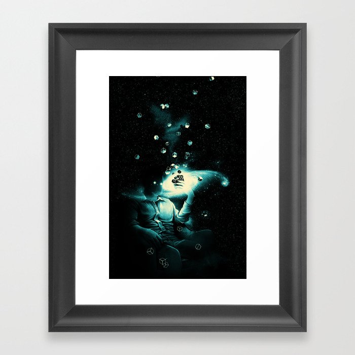 The Solution Framed Art Print